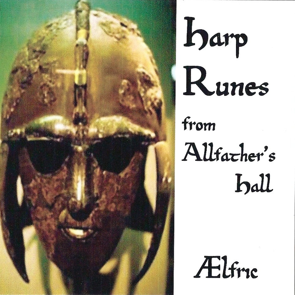 Aelfric - Harp Runes From Allfathers Hall Artwork